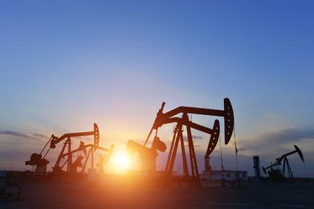 The oil pump Banco de Imagens