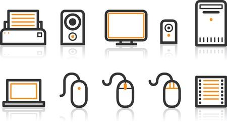 Simple Line Icon Series - Office icon Stock Illustratie