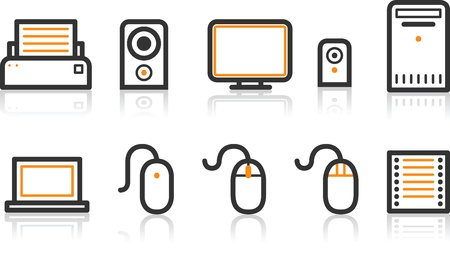 Simple Line Icon Series - Office icon Illustration