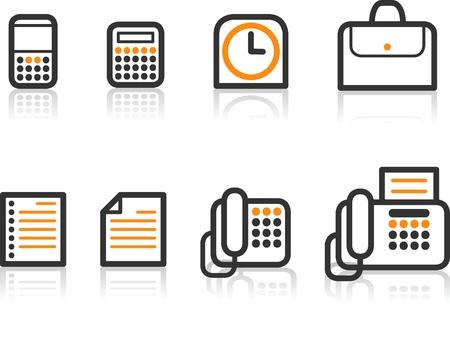 Simple Line Icon Series - Office icon Illustration