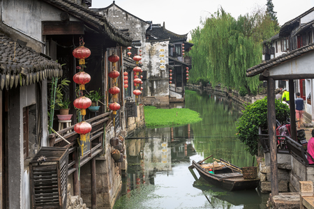 Xitang ancient scenic town Stock Photo - 97092084