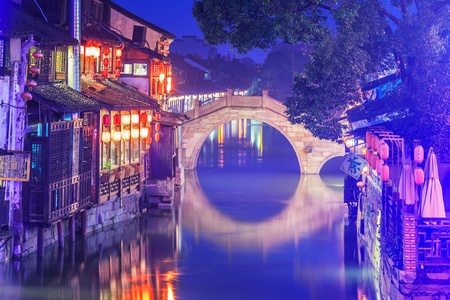 Xitang ancient scenic town Stock Photo - 97092085