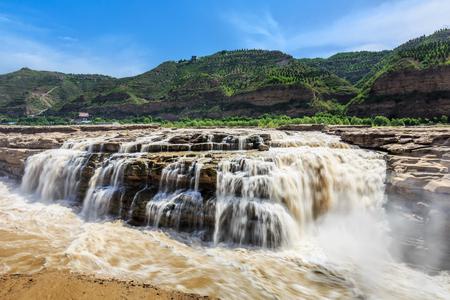 Cascade de Hukou du fleuve Jaune