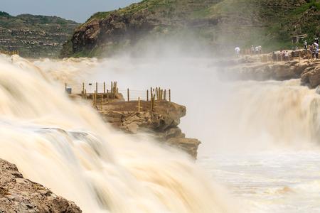Hukou waterfall of Yellow River
