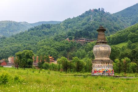 toren op de berg Wutai
