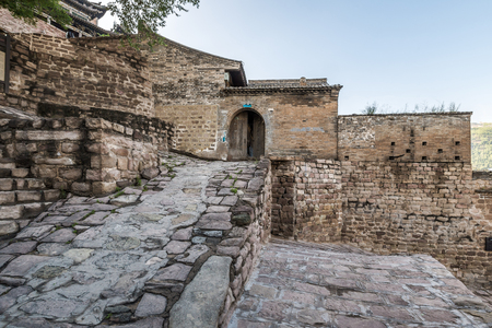 Ancient buildings in the ancient town of Qikou