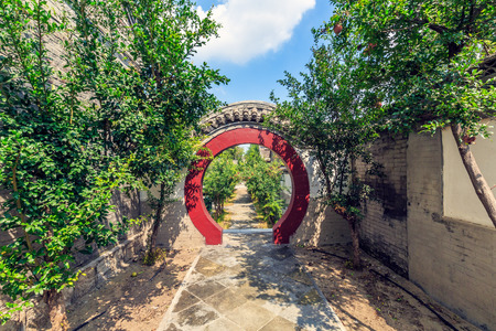 Yang Jia Bu Garden scenery Banco de Imagens