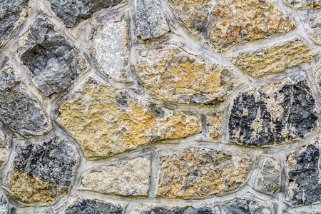 Stone wall texture background material Фото со стока - 108306181