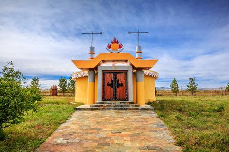 Jingbei Grassland, Great Khan Palace, National Characteristic Architecture