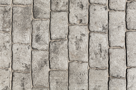 Imitation brick pavement texture Stockfoto
