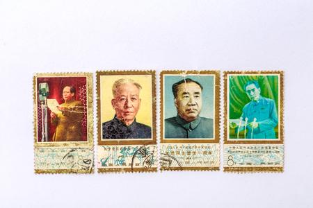 Great man old commemorative stamp Sajtókép
