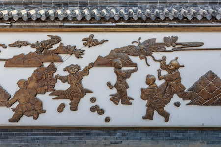 Yangjiabu folk custom kite relief