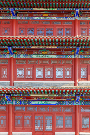 Three-layer Chinese classical doors and windows