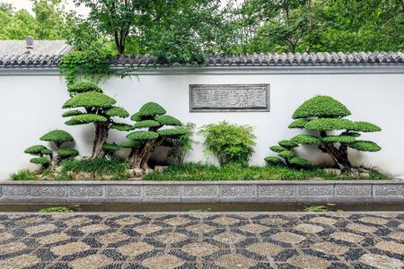 Chinese classical garden landscape
