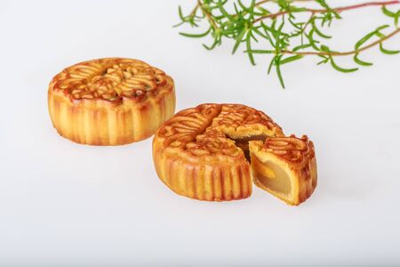 Mid-Autumn Festival mooncakes Фото со стока