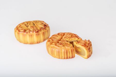 Mid-Autumn Festival mooncakes Stock Photo