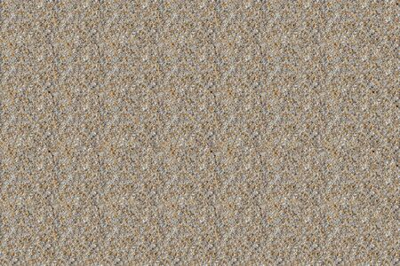 A beautiful horizontal texture of beautiful yellow sand with small white pebbles is in the photo Imagens
