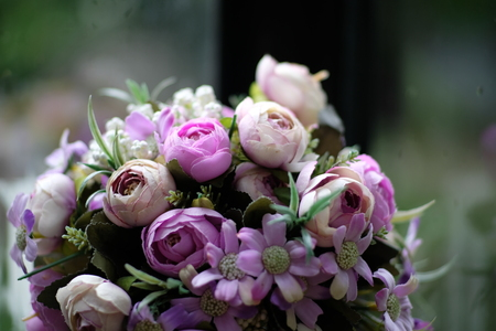 The Purple Bouquet Flower