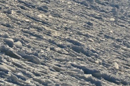 Frozen water - nature ice ocean unusual background