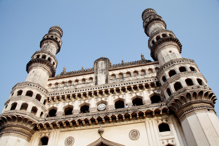 monument in india: Charminar,Famous monument ,Hyderabad,India
