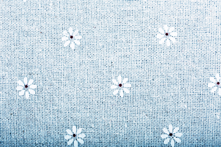 elegantly: Elegantly flowing satin fabric with little flowers Stock Photo