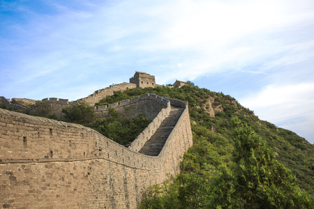 great: The Great Wall of China Stock Photo