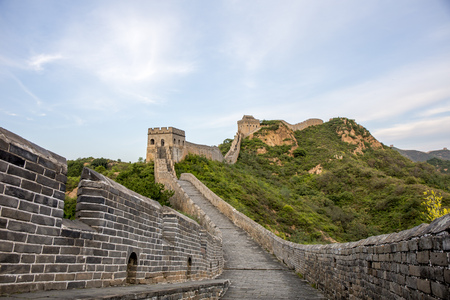 great: great wall Stock Photo