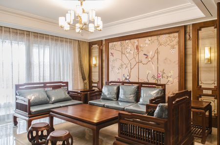 Chinese-style living room