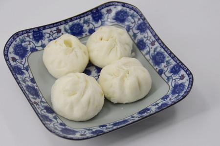 soymilk: Traditional bun