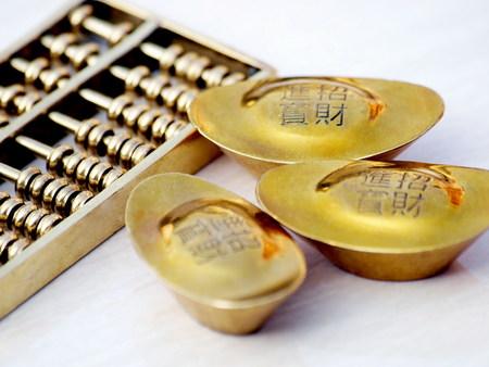 abaco: Chinese ingot and abacus