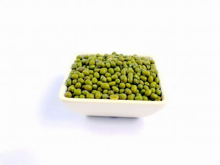 mung: Grains of mung bean