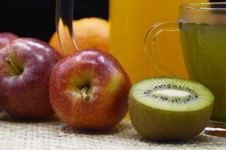 fruitage:  fruit