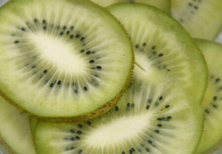 fruitage: Kiwi fruit slices