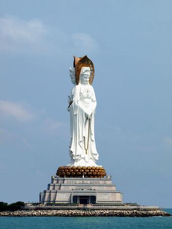 Nanshan scenic spot, Sanya, China