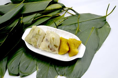 traditional: Traditional gourmet -rice dumplings