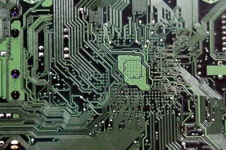 La tarjeta de circuito integrado Foto de archivo
