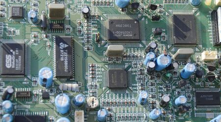 integrated circuit: The integrated circuit board