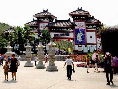Nanshan Temple in Sanya Editorial