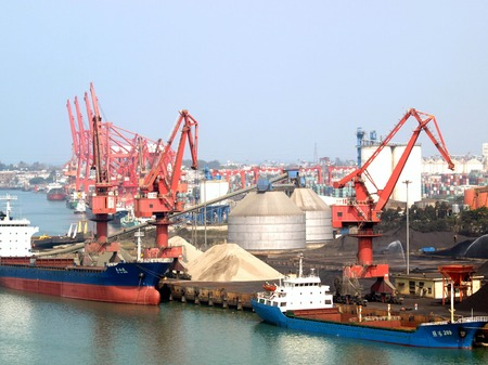 Yangpu Port of Hainan Island Editorial