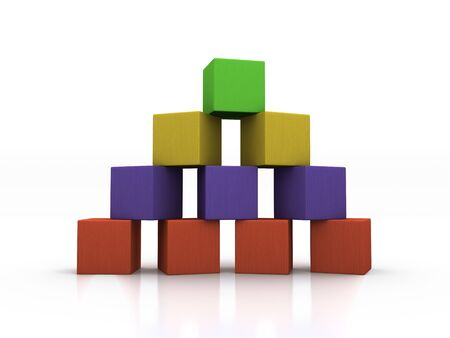 building block: Pyramid of Blocks