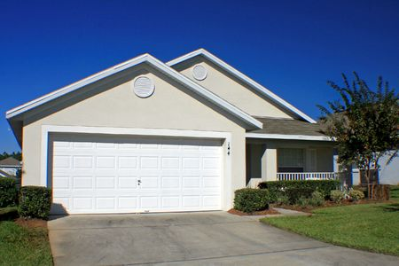 A front exterior of a Florida home. Stock Photo - 3666720