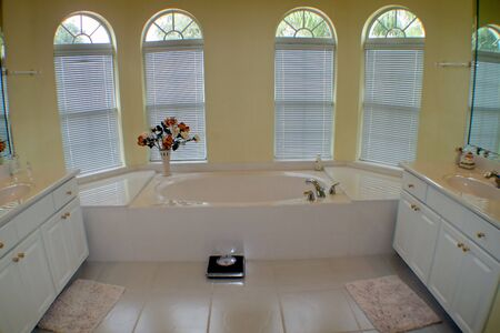A Large Luxurious Bathroom in Central Florida.