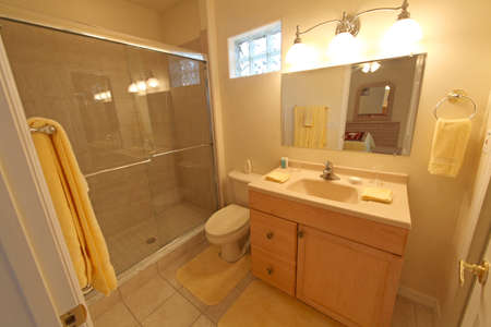 A Bathroom, Interior Shot in a Home Stock Photo - 16191646