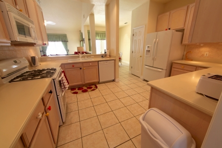 An interior shot of a kitchen in a home Stock Photo - 16216252