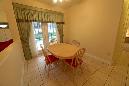 An Inter shot of a Breakfast Area in a Home Stock Photo - 16216248
