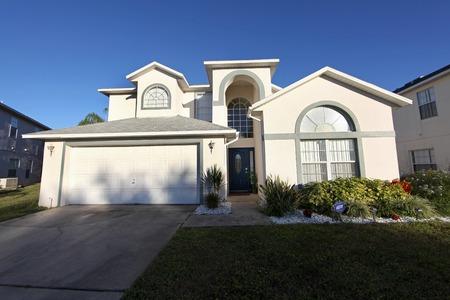 Ein außen vor einem Haus in Florida Standard-Bild - 34451784