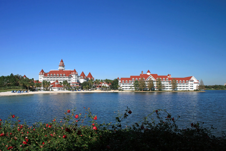 floridian: ORLANDO; FLORIDA - December 27; 2006 - The Grand Floridian Hotel in Walt Disney World