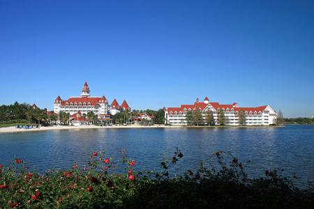 ORLANDO; FLORIDA - December 27; 2006 - The Grand Floridian Hotel in Walt Disney World