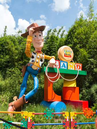 ORLANDO, FLORIDA – July 1st, 2018 – Toy Story Land in Hollywood Studios, Walt Disney World, grand opening June 30th 2018