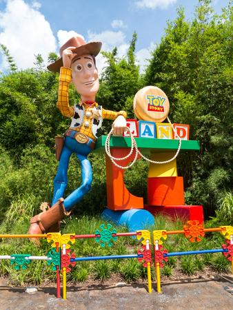 ORLANDO, FLORIDA � July 1st, 2018 � Toy Story Land in Hollywood Studios, Walt Disney World, grand opening June 30th 2018